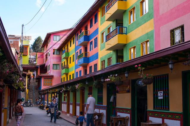 Guatape- West of Medellin