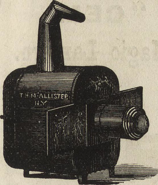 "Image from page 164 of ""Catalogue of stereopticons, dissolving view apparatus, and magic lanterns :with list of several thousand artistically-finished views for the illustration of all subjects of popular interest : manufactured by T.H.McAllister ... New"