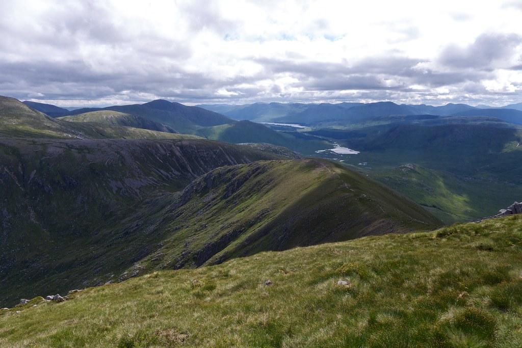 Loch Tulla and Loch Dochard
