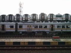 Tumpukan Gerbong Kereta