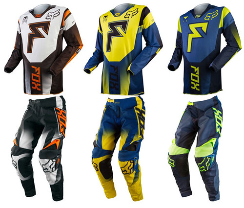 Fox 2015 360 Franchise Motocross Gear Combo