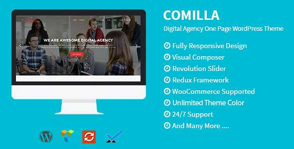 Comilla WordPress Theme free download