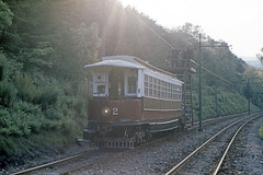 IM Isle of Man - Manx Electric Railway - MER 2 work service - May 1971 a