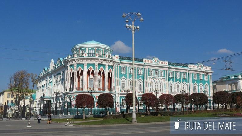 Ekaterimburgo Rusia (7) ciudades sedes del mundial de fútbol de Rusia 2018