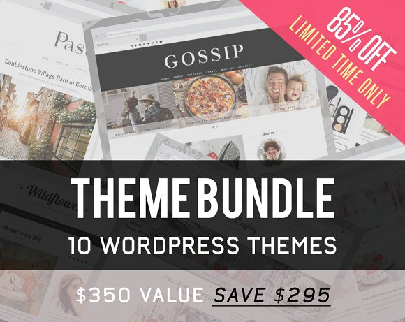 CreativeMarket 10in1 WordPress Theme Bundle