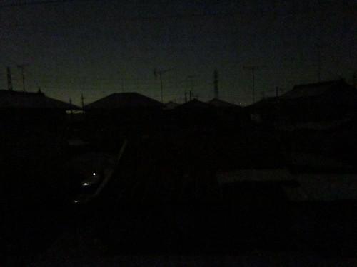 2011年3月17日・停電