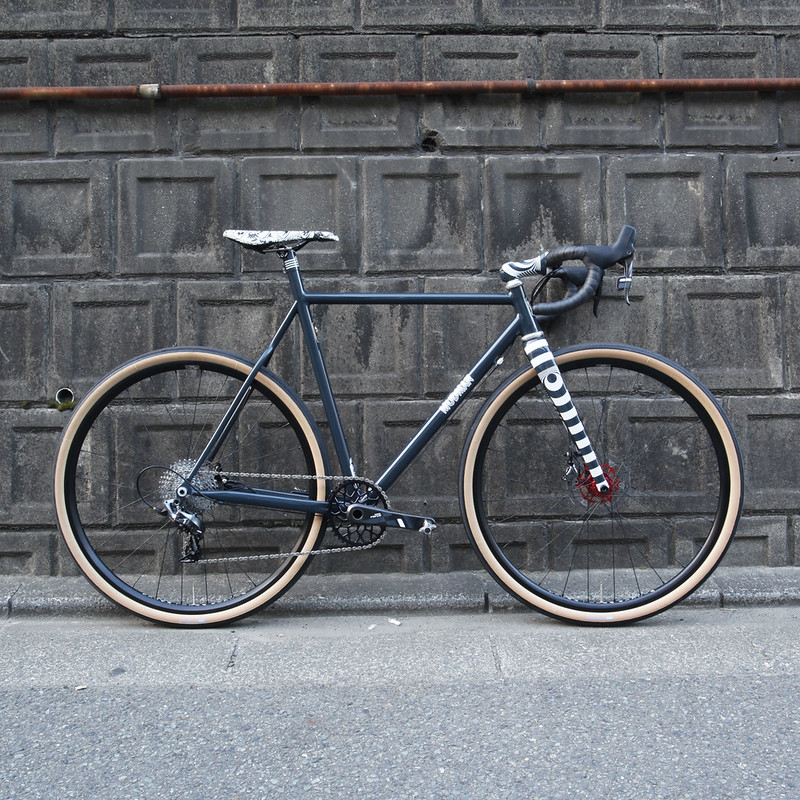 Hand made in Kanagawa Japan Steel Era Mudman Frame.