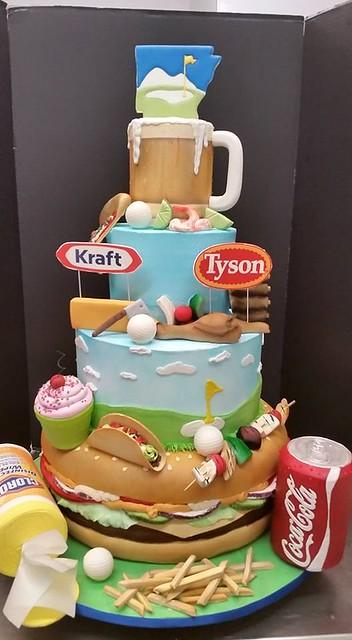 NWA Food Festival Showpiece Cake by Shelby Lynn's Cake Shoppe