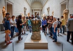 Center of attention - The Metropolitan Museum of Art, New York City