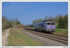 SNCF 72130 - Port sur Saône - IC1541 (26-03-2017)