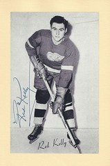 1944-63 NHL Beehive Hockey Photo   Group II - RED KELLY (Defence   Centre)  (Hall of Fame 1969) - Autographed Hockey Card (Detroit Red Wings) ( 182) 6640b3ff2