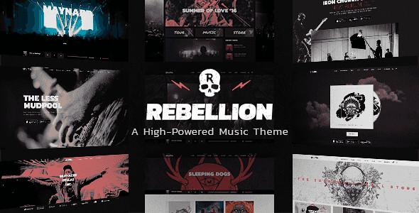 Rebellion WordPress Theme free download