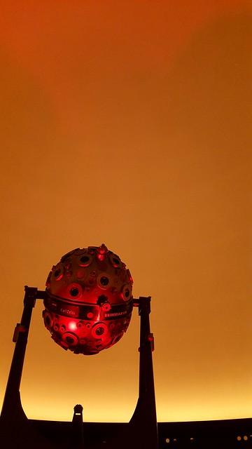 In the planetarium of Stuttgart