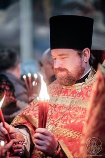Литургия в Иверском монастыре 800