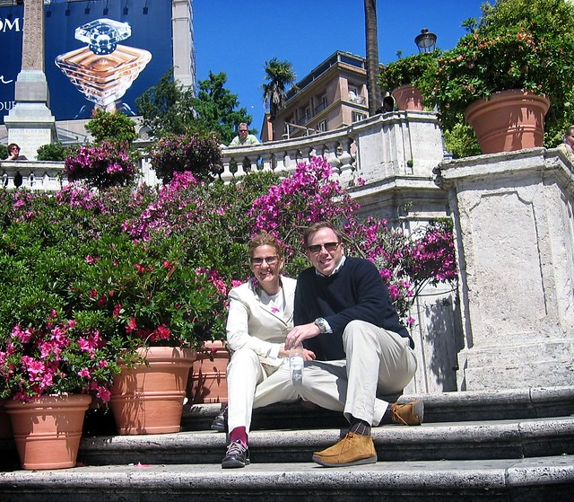 Rome, Spanish Steps 2005