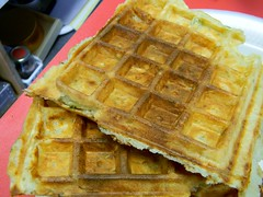Potato Herb Waffles