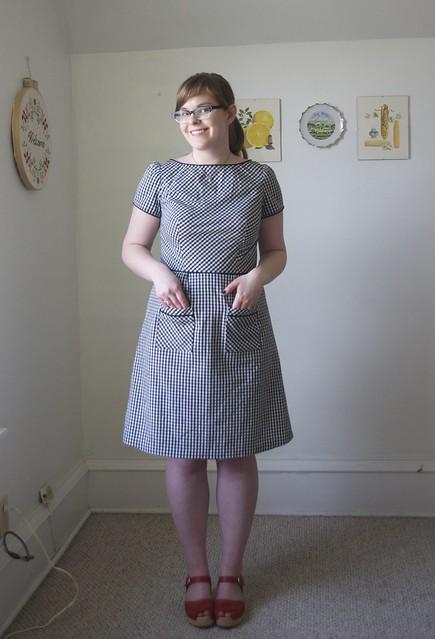 Spring Peony Dress