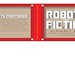 Small photo of Robots From Fiction Alphabet Book Cover/Back