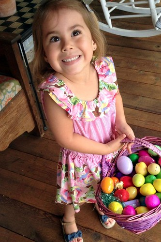 Karlie's Easter dress