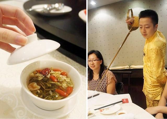 1.si chuan dou hua tea pouring