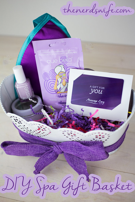 DIY Spa Gift Basket