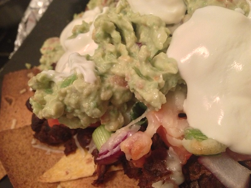 Guacamole : Serve on Nachos