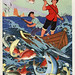 People and fish jump for joy by chineseposters.net