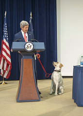 Secretary Kerry Introduces Ben to Children at Take Your Child to Work Day