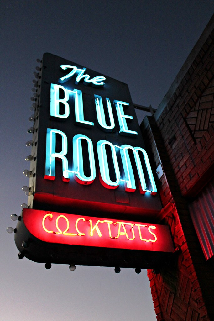 The Blue Room - 916 South San Fernando Boulevard, Burbank, California U.S.A. - April 27, 2014