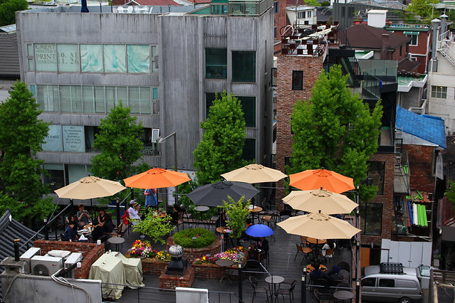 Rooftop restaurant - Seoul