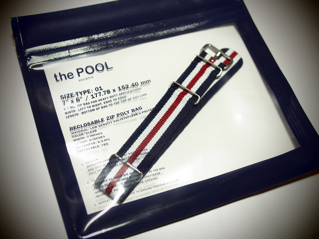 NATO-Type Watch Strap