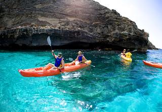 Un paraíso para los deportes acuáticos.