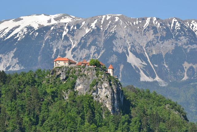 Bled Castle (Back)