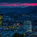 Zürich Skyline Sunset by Sandro Bisaro