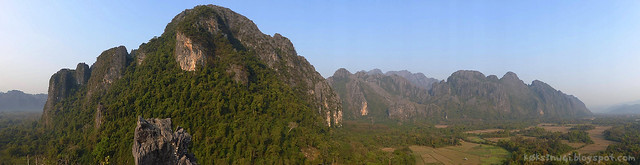 08 Pha Poak Panoramic View of Karst Mountains