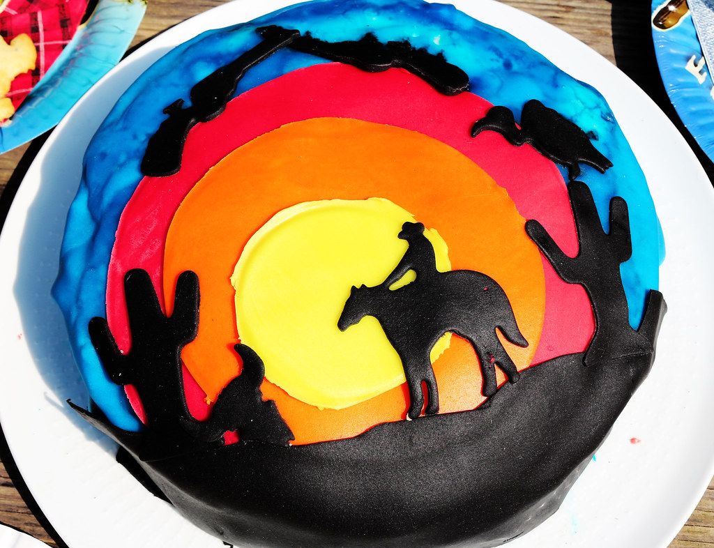 Cowboy-Kuchen