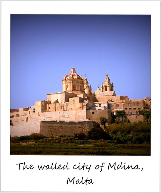 polaroid of the week malta mdina