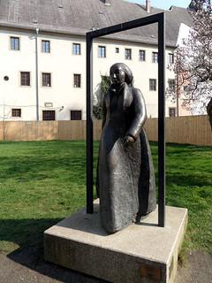 Lutherstadt Wittenberg - Denkmal für Katharina von Bora (1999)