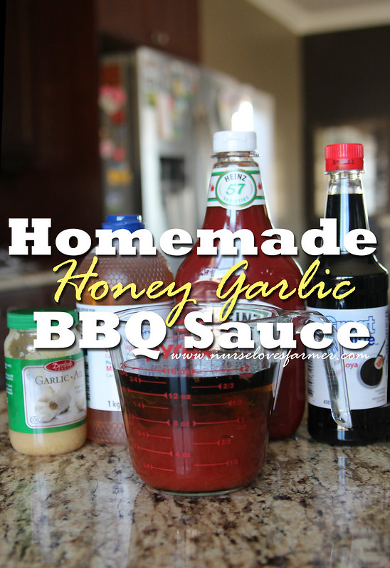 Homemade Honey Garlic BBQ Sauce