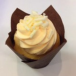 Dreamsicle Cupcake