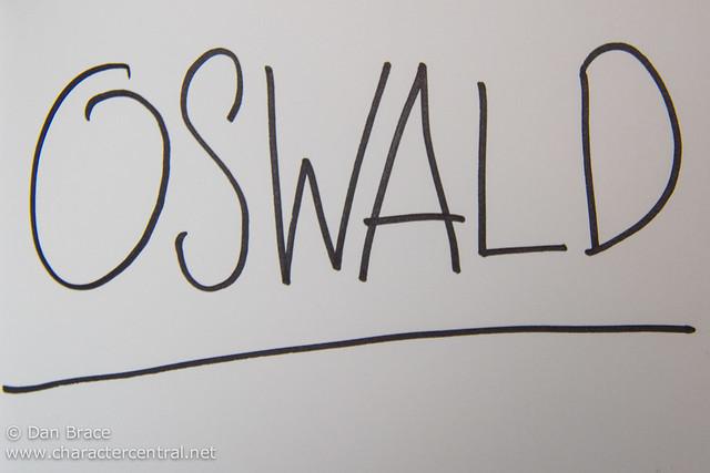 Oswald's autograph