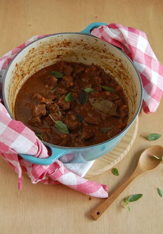 Beef stew / Picadinho de carne