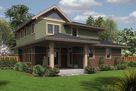 Planos de casas de 2 pisos con 4 habitaciones y 3 ba os for Buscar vivienda