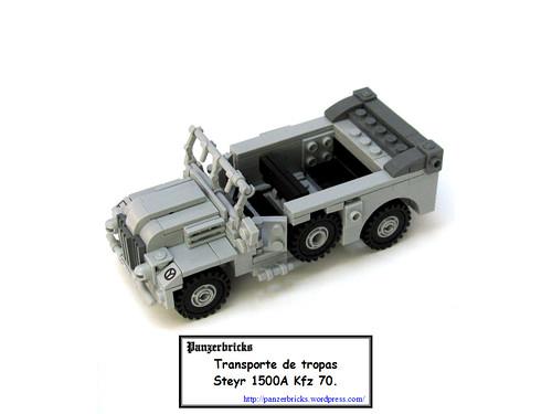Pkw Steyr 1500A de Panzerbricks