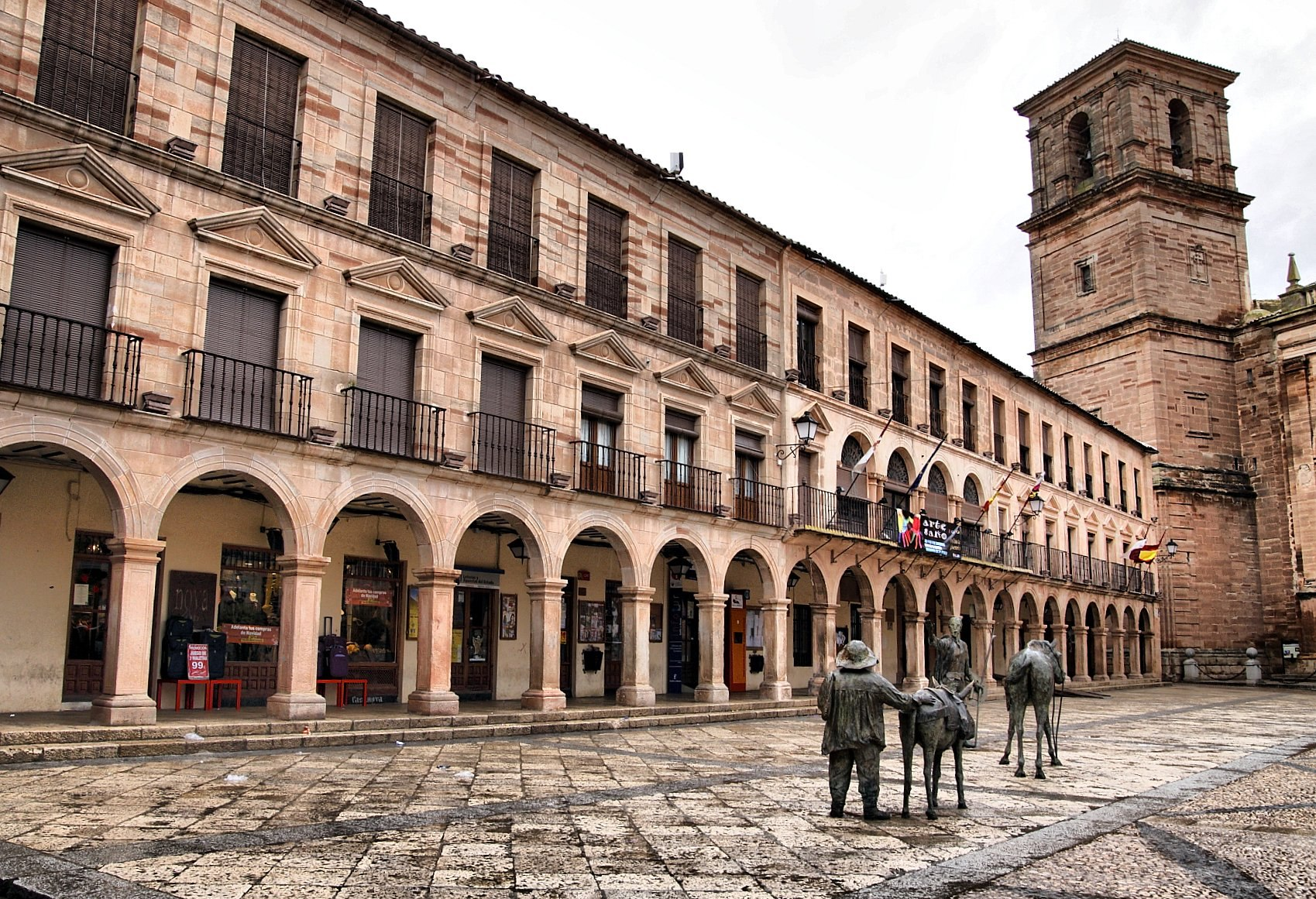 La plaza Mayor. Autor, Ernegon