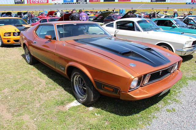 Photo:1973 Ford Mustang Mach 1 Sportsroof By Sicnag