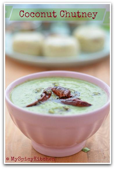 Kobbari Pachadi in s bowl