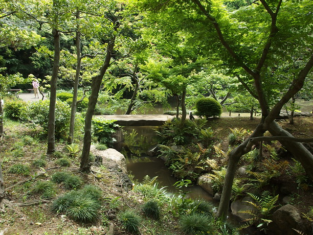 Traditional japanese garden kyu furukawa garden for Traditional japanese garden