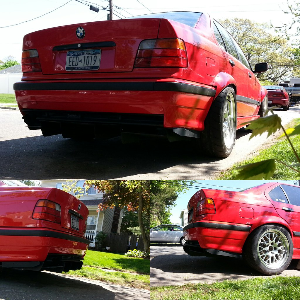 My Awesome Hand Made E36 M3 Rear Diffuser! (WARNING: Swag