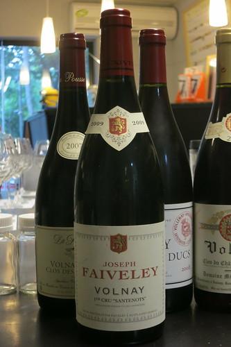 Faiveley 2009 Volnay 1er Cru Santenots